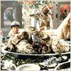 Indiana Jones y el templo maldito : foto Jonathan Ke Quan, Kate Capshaw, Steven Spielberg