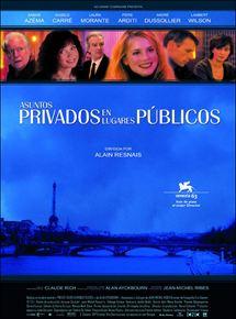 Asuntos privados en lugares públicos