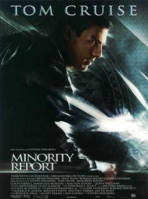 póster de la película Minority Report