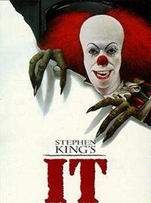 Afiche de la primera película It de 1990