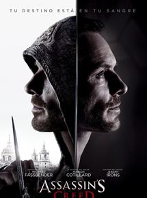 poster de la pelicula de assassins creed