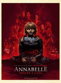 Annabelle vuelve a casa - Cartel