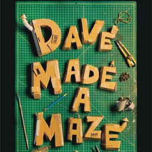 Resultat d'imatges de cartel dave made a maze