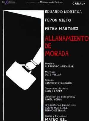 Allanamiento De Morada Película 1998 Sensacine Com