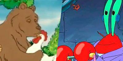 16 ejemplos de errores en los dibujos animados que te animarán el día