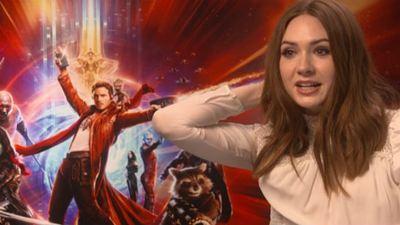 """'Guardianes de la Galaxia Vol. 2': SensaCine enseña al equipo de la película a decir """"Yo soy Groot"""""""