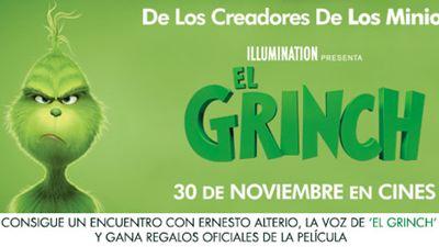 ¡SORTEAMOS 5 PACKS DE 'EL GRINCH' Y UN ENCUENTRO CON ERNESTO ALTERIO, LA VOZ DEL GRINCH!
