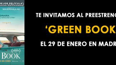 ¡SORTEAMOS ENTRADAS DOBLES PARA EL PREESTRENO DE 'GREEN BOOK'!