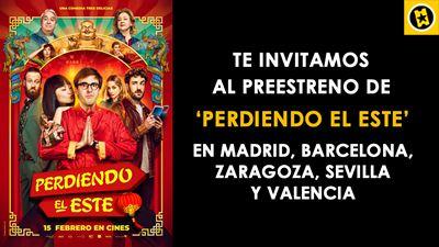 ¡SORTEAMOS ENTRADAS PARA EL PREESTRENO DE 'PERDIENDO EL ESTE' EN CINCO CIUDADES DE ESPAÑA!