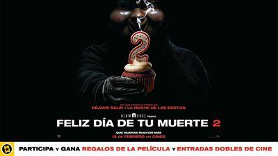 ¡SORTEAMOS ENTRADAS DOBLES, CARTELES Y BLU-RAYS DE 'FELIZ DÍA DE TU MUERTE 2'!