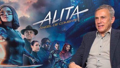 """Christoph Waltz: """"En 'Alita: Ángel de combate' hay menos CGI del que parece"""""""