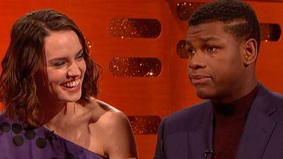 Este ha sido el inesperado regalo de Daisy Ridley a John Boyega por el final del rodaje de 'Star Wars 9'