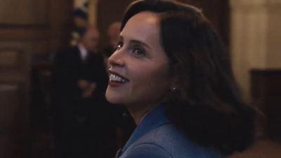 'Una cuestión de género': El gran parecido de Felicity Jones con su personaje