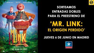 ¡SORTEAMOS ENTRADAS DOBLES PARA EL PREESTRENO DE 'MR. LINK: EL ORIGEN PERDIDO' EN MADRID!