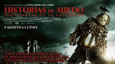 ¡SORTEAMOS ENTRADAS DOBLES PARA EL PREESTRENO DE 'HISTORIAS DE MIEDO PARA CONTAR EN LA OSCURIDAD' EN MADRID!