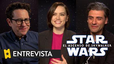 """Daisy Ridley ('Star Wars: El ascenso de Skywalker'): """"Me llevó unos minutos procesar los orígenes de Rey"""""""