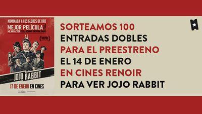 ¡Sorteamos 100 entradas dobles para el esperado preestreno de 'JOJO RABBIT'!