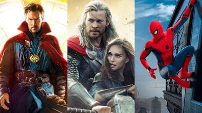 'Doctor Strange 2', 'Thor: Love and Thunder' y las secuelas de 'Spider-Man' ya tienen nuevas fechas de estreno