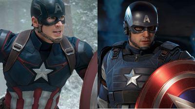 Los Vengadores del UCM comparados con los del videojuego 'Marvel's Avengers'