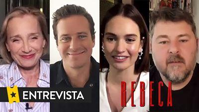 """Lily James: """"Cuando 'Rebeca' (Netflix) se vuelve realmente fantasmagórica y encantada, esa es mi parte favorita"""""""
