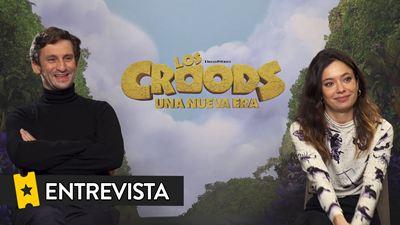 """Anna Castillo ('Los Croods: Una nueva era'): """"Me quedo con el feminismo bien contado que tiene esta película"""""""