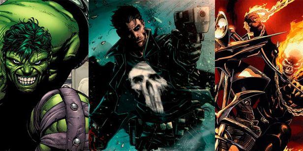 Marvel podría adaptar a televisión 'Hulk', 'Punisher', 'El Motorista Fantasma' y 'Blade'
