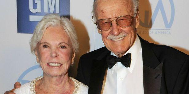 Muere a los 93 años Joan Lee, esposa e inspiración de la leyenda del cómic Stan Lee