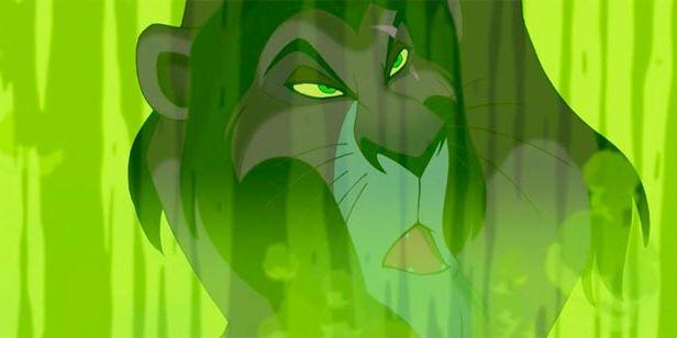 Si ves el color verde radiactivo en una película de Disney, ya sabes lo que va a pasar