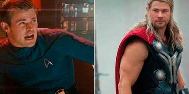 Así eran los actores de Marvel antes de entrenarse para ser superhéroes