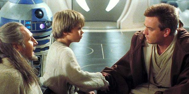 'Star Wars: Episodio I - La amenaza fantasma': La imagen de los protagonistas hace 18 años que te alegrará el día