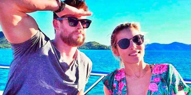 '12 valientes': Chris Hemsworth y Elsa Pataky tendrán una escena de sexo en su nueva película