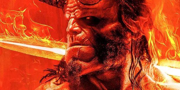 David Harbour sorprende en el primer póster de 'Hellboy'