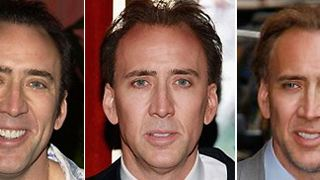 Los locos peinados de Nicolas Cage