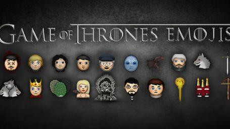 'Juego de tronos': ¡Mira los protagonistas de la serie como emoticonos de Whatsapp!