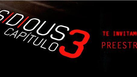 ¡Ven al preestreno de 'INSIDIOUS: CAPÍTULO 3'!