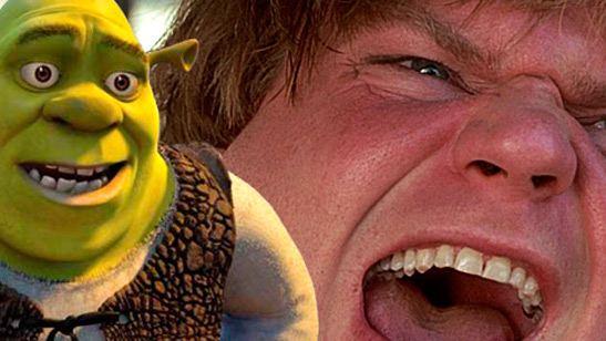 Así hubiera sonado Shrek con la voz del actor de 'La salchicha peleona'