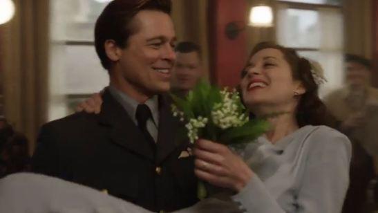 'Aliados': Brad Pitt y Marion Cotillard, enamorados en el nuevo adelanto del filme