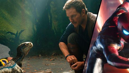 'Vengadores: Infinity War' y 'Jurassic World: El reino caído', los mejores adelantos de la Super Bowl para los usuarios de SensaCine