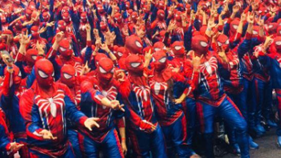 ¿Cuántos Spider-Man hacen falta para lograr un récord Guinness?