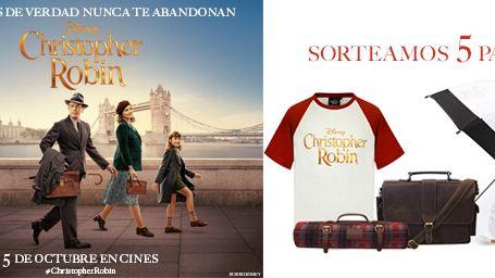 ¡SORTEAMOS 5 PACKS DE REGALOS 'CHRISTOPHER ROBIN'!