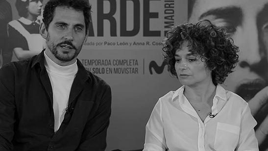 Entrevistamos a los protagonistas de 'Arde Madrid', la nueva serie de Movistar+ que dará de qué hablar