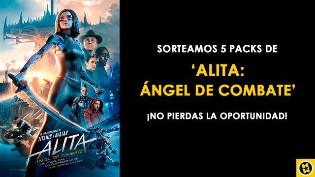 ¡SORTEAMOS 5 PACKS DE 'ALITA: ÁNGEL DE COMBATE'!