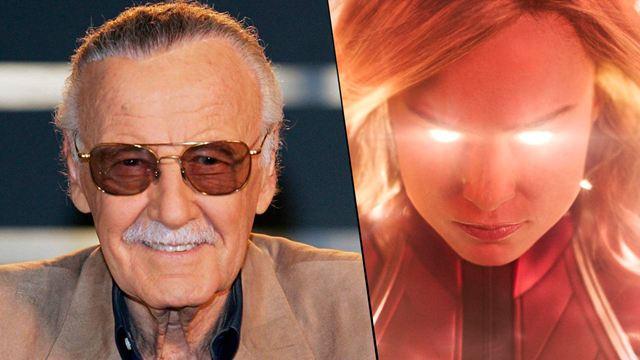 'Capitana Marvel' comienza con un tributo a Stan Lee