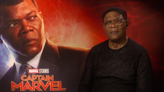 Los protagonistas de 'Capitana Marvel' eligen su personaje, película y escena favorita del Universo Marvel