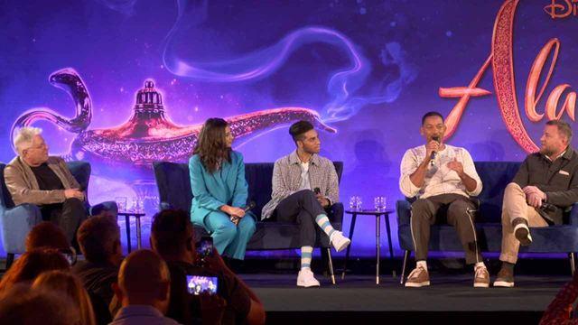 """Will Smith ('Aladdin'): """"Me aterrorizaba interpretar al Genio de la Lámpara"""""""