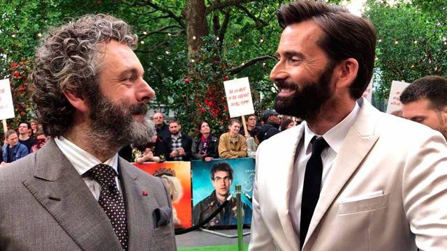 """David Tennant y Michael Sheen: """"Disfrutamos el uno del otro en 'Good Omens' y eso te inspira"""""""