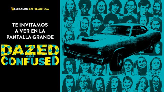¡TE INVITAMOS A VER MOVIDA DEL 76 (DAZED AND CONFUSED, 1993) de Richard Linklater EN PANTALLA GRANDE EN LA FILMOTECA!