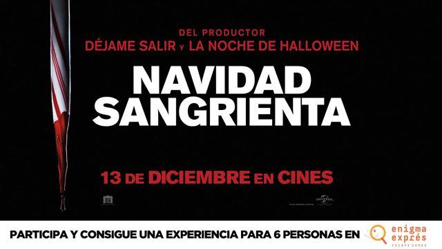 'Navidad sangrienta': Sorteamos un pase para 6 personas en el Escape Room La Fuga del Zulo en Enigma Exprés Madrid