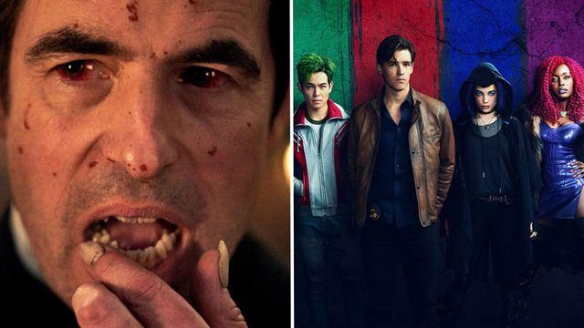 'Drácula', la 2T de 'Titanes' y otras películas y series que Netflix estrena en enero de 2020