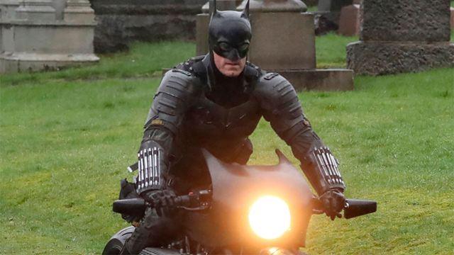 'The Batman' se cae de la batmoto en un vídeo del rodaje